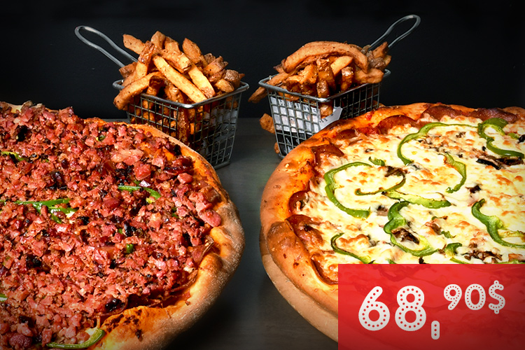 Moe's | Combo pizza